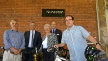 New rail station facilities benefit cycle commuters