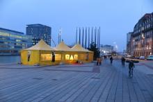 Humanitär utställning i Malmö