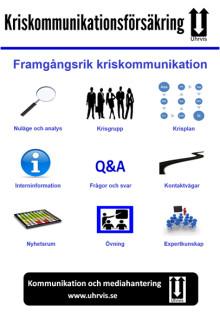 Kriskommunikationsförsäkring ger kunskap och beredskap