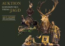 Auktion Kunst, Antiquitäten und Schmuck mit dem Schwerpunkt Jagd