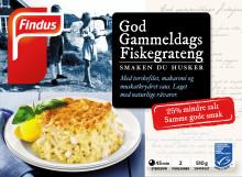 God Gammeldags fiskegrateng med mindre salt