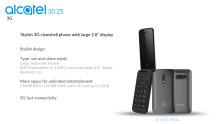 Tuotekortti Alcatel 3025