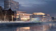 Tyréns hjälper till att bygga kulturhuset Väven i Umeå