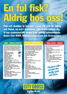 Guideline för hållbar fiskhantering City Gross