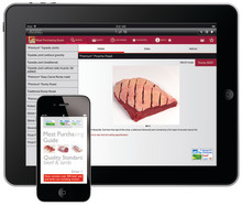 ORDER MEAT FROM YOUR TABLET OR SMARTPHONE WITH NEW MEAT PURCHASING GUIDE APP