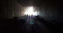 Öppen tunnel 17 april i Gamla Uppsala