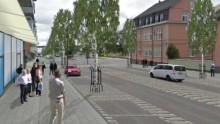 Tyréns förslag för ny affärsgata i Luleå