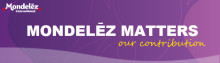 Subscribe to our quarterly newsletter Mondelez Matters