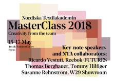 Inbjudan till pressfrukost om NTA MasterClass 2018