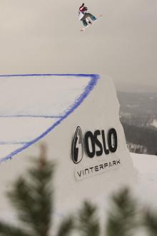 NORSKA VINTERNYHETER: Oslo Tryvann bygger ut inför Snowboard VM