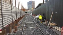 Byggingen av Lørenbanen medfører buss for bane på Grorudbanen kommende helg