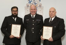 More than 30 police officers and staff honoured at awards ceremony