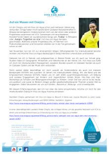 Auf ein Wasser mit Onejiru: Ehrenamtliche Stiftungsbeirätin für Interkulturalität