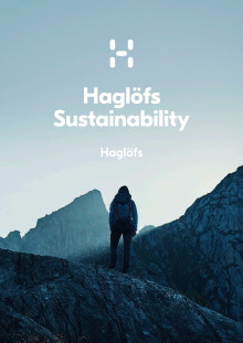 Haglöfs Sustainability Report