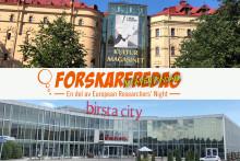 Forskningen tar plats i Birsta City för första gången