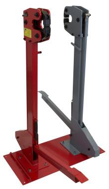 PELA krymp- och sträckmaskin med två hus – krympning och sträckning utan att behöva byta redskap