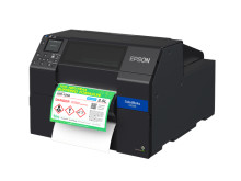 Epson Launches New C6050 & C6550 Series ColorWorks Label Printers with Auto-Peeler and Auto-Cutter Capabilities