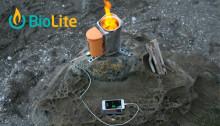 Ladda och laga mat med CampStove från BioLite