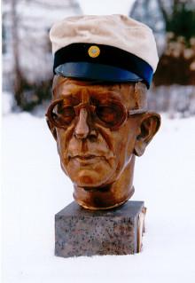 Unikt bronsporträtt av GAN till Kulturen i Lund