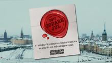 Gasnätet önskar en godare jul i Stockholm