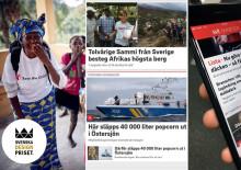 Rädda barnen och SVT nominerade i Svenska Designpriset 2018!