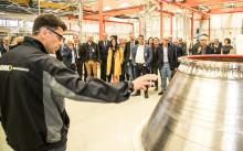 Internationellt rymdprojekt tar fart – GKN Aerospace inviger ny verkstad