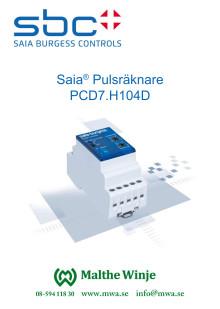 Pulsräknare PCD7.H104D