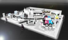 Nya produkter och teknologier dominerar Bridgestones monter vid motorsalongen i Genève 2012