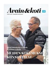 Avain & koti -lehti 3/2018 on ilmestynyt