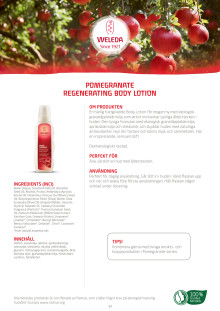 Pomegranate Regenerating Body Lotion