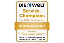 Das sind Deutschlands Service-Champions 2019