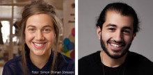 Ida Östensson och Milad Mohammadi klara för TEDxAlmedalen