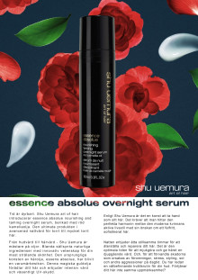 Essence absolue overnight serum