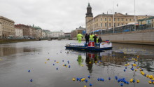 Pressmeddelande: M/S Ren-Ström har kastat loss för ny städsäsong