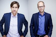 Tobias och Martin nya på Science Park Jönköping