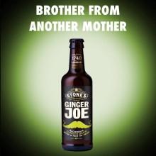 Ginger Joe Pear - nyhet med smak av päron från den mustaschprydde Ginger Joe!