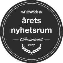 Thermotech Nominerade till Årets Nyhetsrum 2013