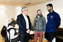 Unga ledare utbildas i Biskopsgården