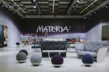 Tio nya möten i Materias monter på Stockholm Furniture Fair