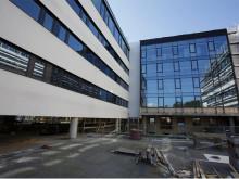 Bygget nytt sykehus oppå det gamle