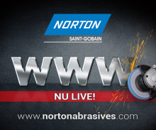 NORTON ABRASIVES LANCEERT NIEUWE WEBSITE