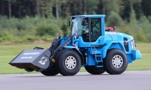 New dream limit reached when the world's fastest wheel loader hit new record