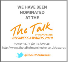 Finegreen nominated for 3 awards at this year's Talk of Manchester Awards!