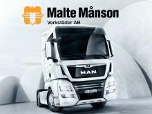 Ny MAN-verkstad i Malte Månsonkoncernen