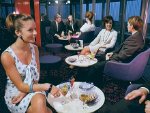 BT Tower restaurant re-opens for 50th birthday celebrations