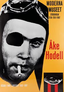 Stridspiloten som kraschlandade i konsten: Åke Hodell 100 år