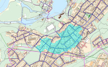 Dags för nya vattenledningar i södra Skoftebyn