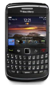 Nya Blackberry Bold 9780 – Förhandsboka förbättrade Blackberry Bold hos 3