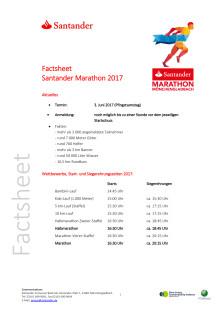 Factsheet Santander Marathon 2017