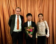 Dr. Yohei Jinno tilldelas 2018 års stipendium från Eklund Foundation
